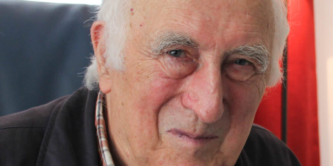 Portraitfoto von Jean Vanier